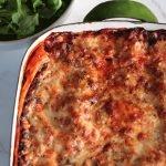 nduja lasagne baked