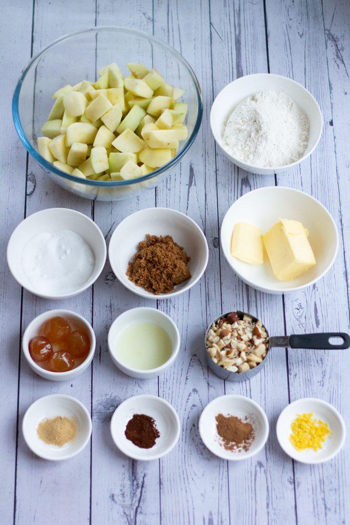 apple crumble ingredients