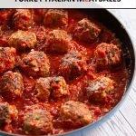 turkey italian meatballs in marinara sauce