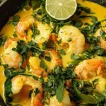 Easy Prawn Curry with Coconut Milk