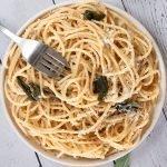 Sage Butter & Walnut Pasta
