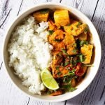 Sweet Potato and Tofu Thai Red Curry