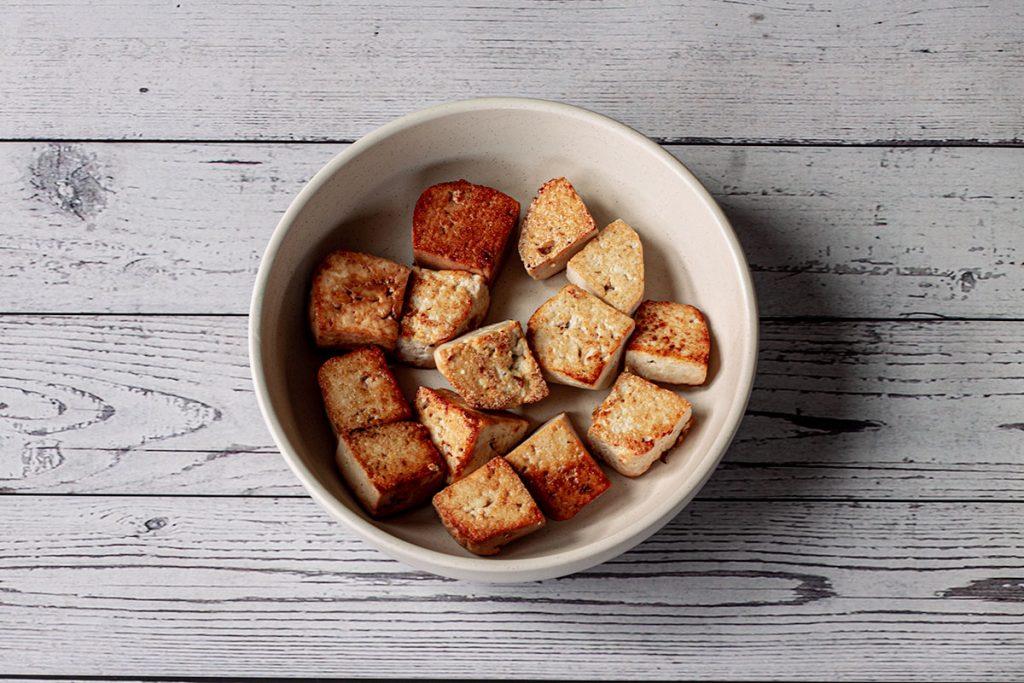 Prepared tofu