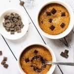 Servings of Half Baked Cookie Dough Puddings