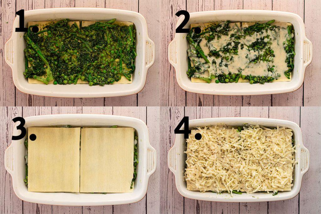Lasagne assembly
