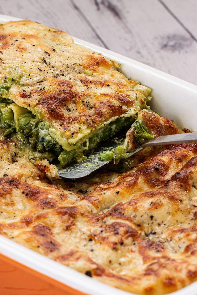 Easy Lasagne Al Pesto