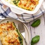 A serving of Easy Lasagne Al Pesto