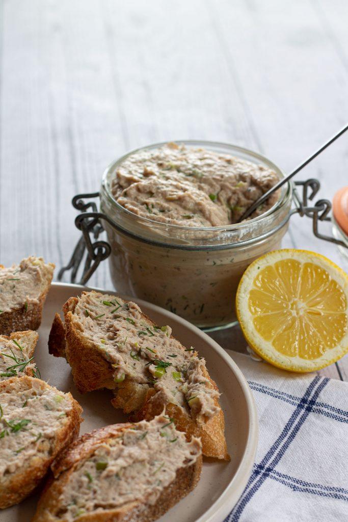Tuna Pate served on bread