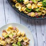 Broccoli and Sausage Pasta