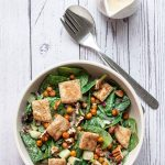 Spinach and Chickpea Salad