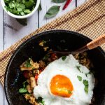 A serving of Thai Basil Fried Rice