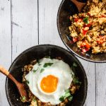 Servings of Thai Basil Fried Rice