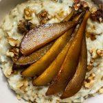 Instant Pot Gorgonzola & Pear Risotto