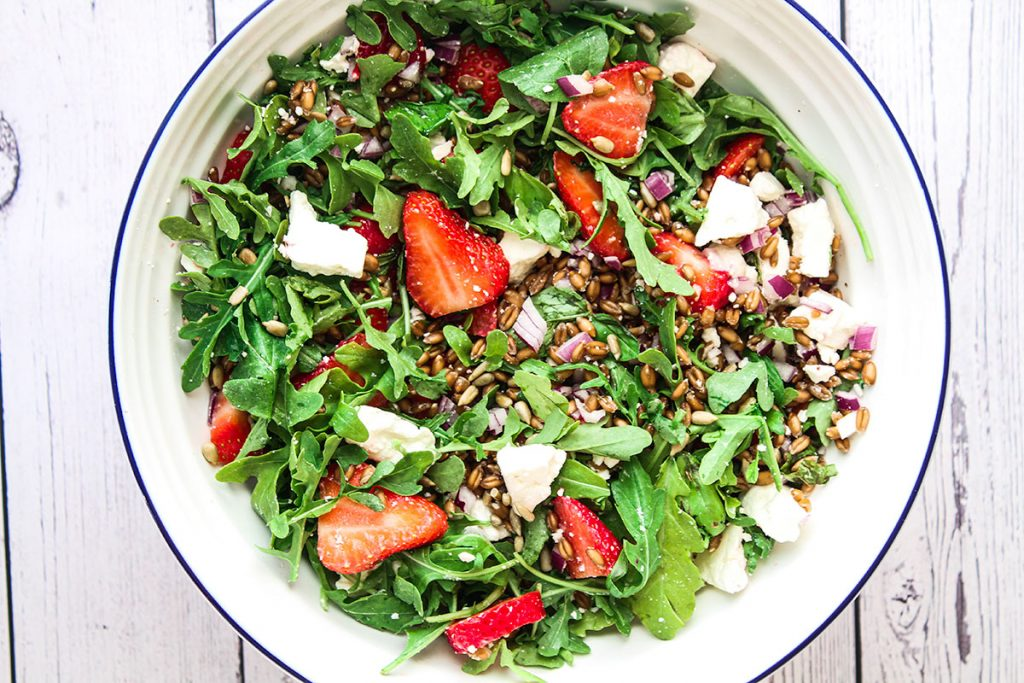 Strawberry and Rocket Salad