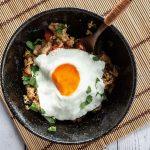 bowl of Thai basil fried rice
