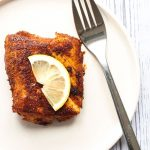 A serving of Blackened Cod